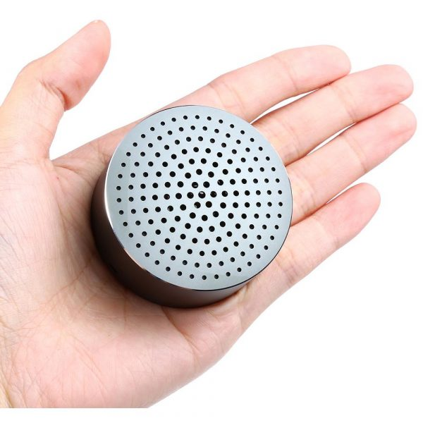 Портативная колонка Xiaomi Mi Cannon Little Audio/Portable Round Box Gray (XMYX02YM)